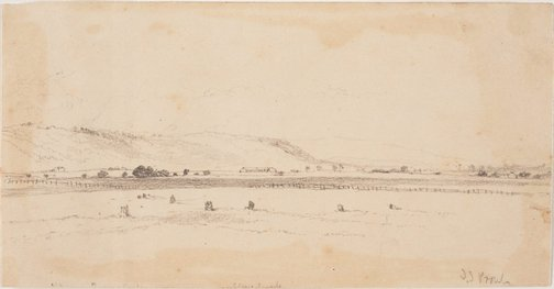 An image of Landscape, NSW by John Skinner Prout
