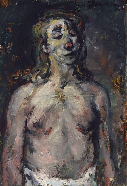 An image of Nude study by Paul Haefliger
