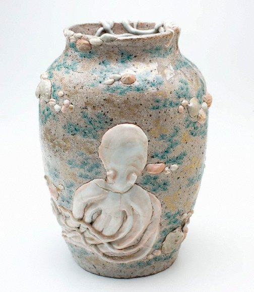 An image of Octopus vase by Meiji export crafts