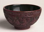 Alternate image of Tea bowl (decorated with scenes of eight children at play) by