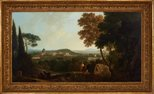 Alternate image of St Peters and the Vatican from the Janiculum, Rome by Richard Wilson