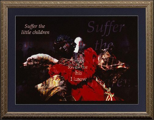 An image of Suffer the little children by Brenda L Croft