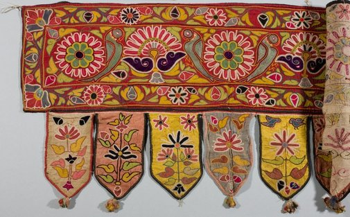 An image of Door hanging ('toran') by