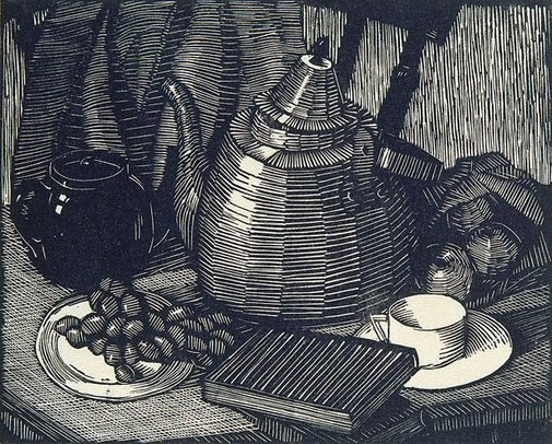An image of Still life by Ethel Spowers