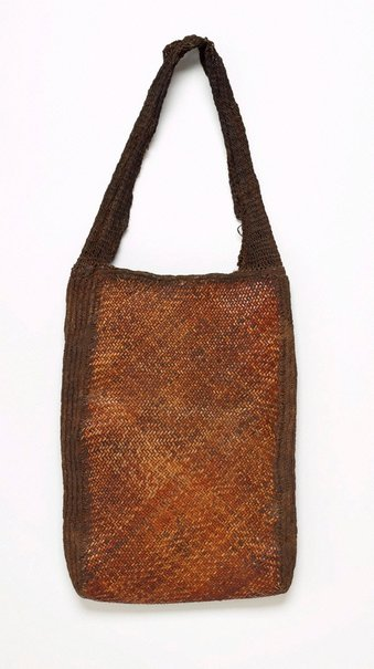 An image of Aenkiya nuw (plaited rattan bag) by