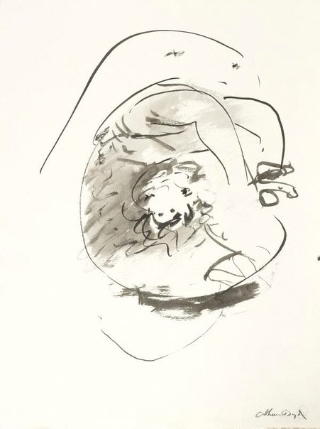 An image of (Illustration for 'Jonah' p.41) by Arthur Boyd