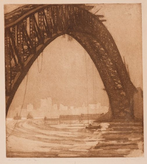 An image of The great arch by Jessie Traill