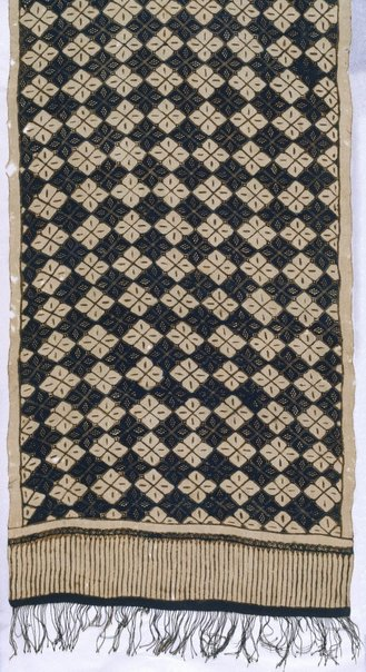 An image of Batik shouldercloth ('slendang') by