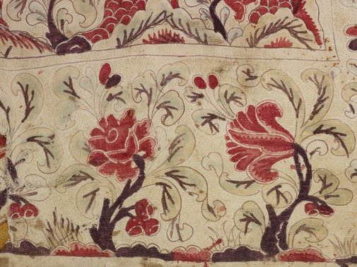 An image of Large hanging Indian trade cloth (palampore) by