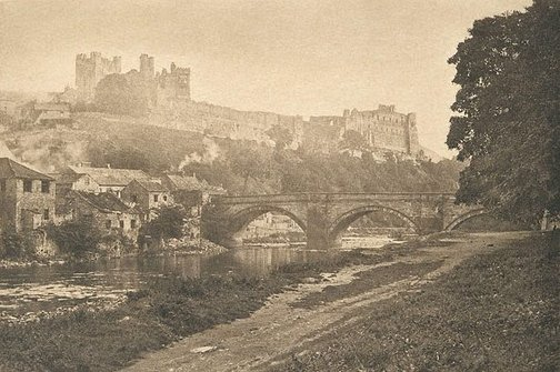 An image of Richmond Castle by James A Sinclair