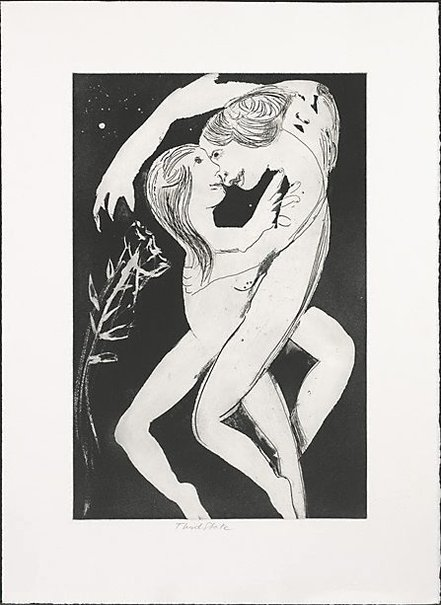 An image of Lovers by Arthur Boyd