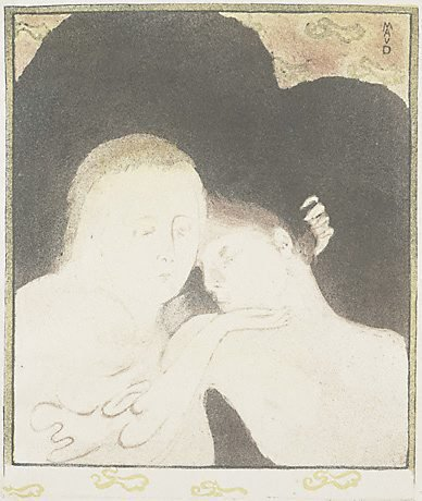An image of Tenderness by Maurice Denis