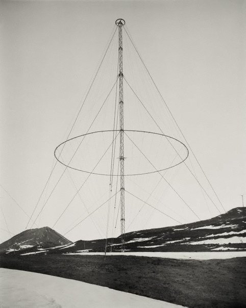 An image of Conical monopole, Scott Base, Ross Island, Antarctica, 3 December 2010 by Laurence Aberhart