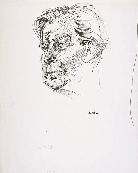 An image of William Dobell by Louis Kahan