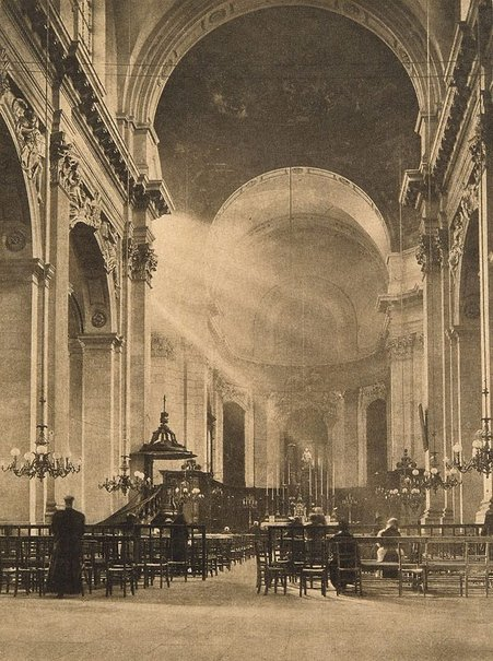 An image of The cathedral, Nancy by James A Sinclair