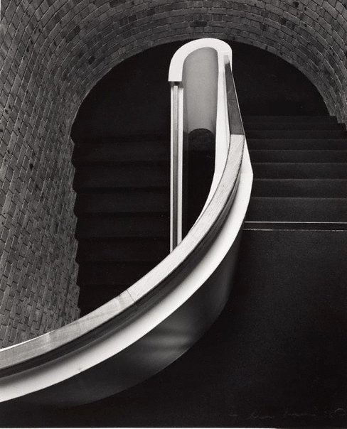 An image of Stair rail by Max Dupain