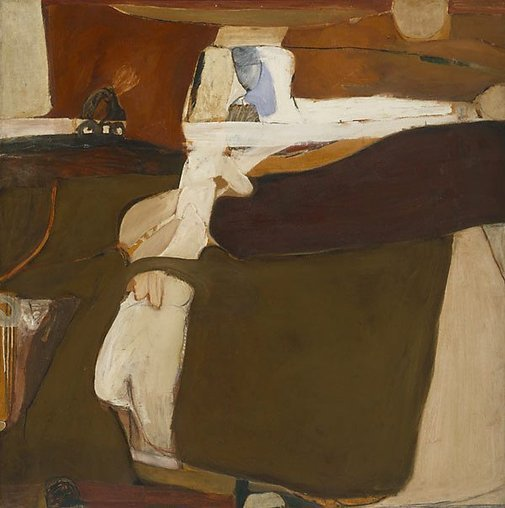 An image of Untitled painting by Brett Whiteley