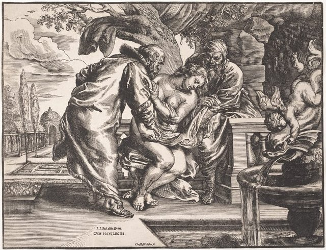 An image of Susanna and the elders