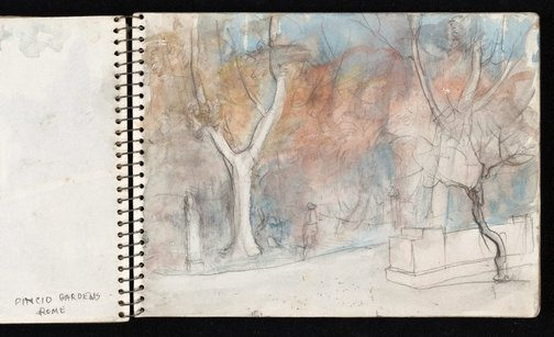 An image of Sketchbook no. 5: Europe and Australia 1954-1960 by Lloyd Rees