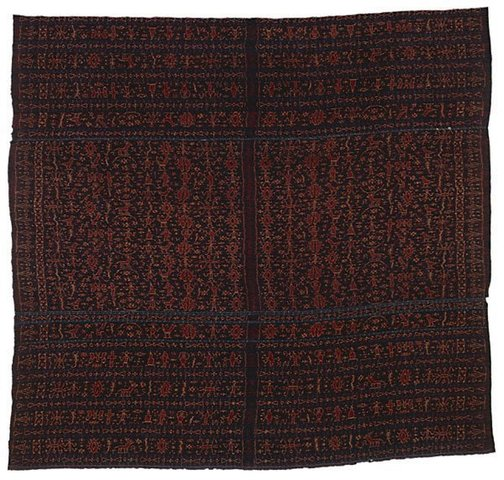 An image of woman's skirtcloth ('lawo redu') by