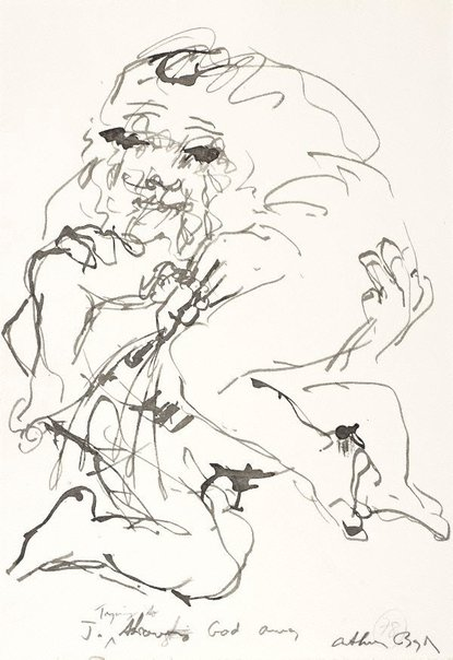 An image of (Illustration for 'Jonah' p.99) by Arthur Boyd