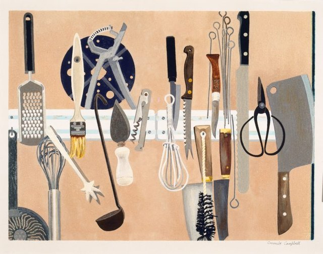 An image of Kitchen utensils