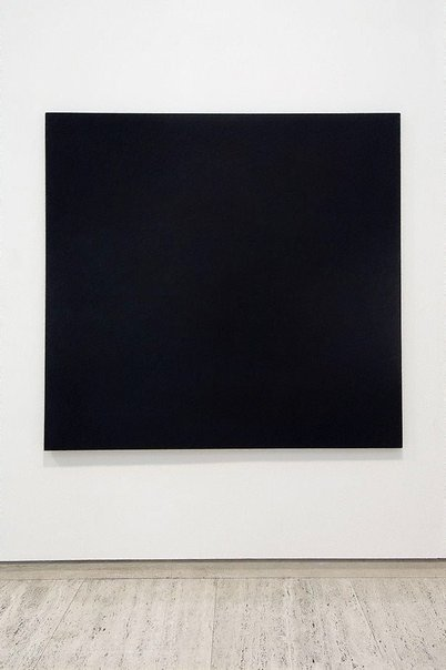 An image of Blue black indigo black by Bob Law