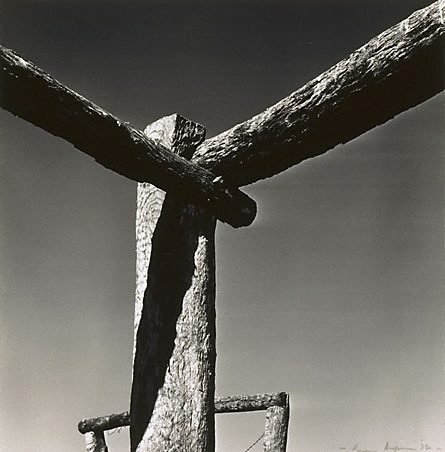 An image of Stockyard II by Max Dupain