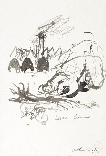 An image of (Illustration for 'Jonah' p.115) by Arthur Boyd