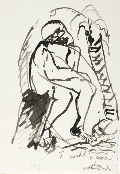 An image of (Illustration for 'Jonah' p.117) by Arthur Boyd