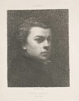 An image of Portrait of Fantin at seventeen years by Henri Fantin-Latour