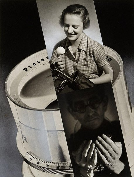 An image of Untitled (advertising collage) by Max Dupain