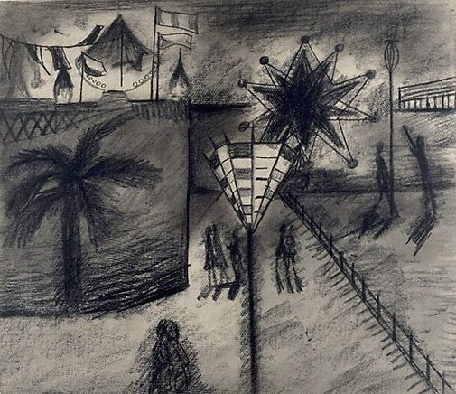 An image of Luna Park with Griffin light by Charles Blackman