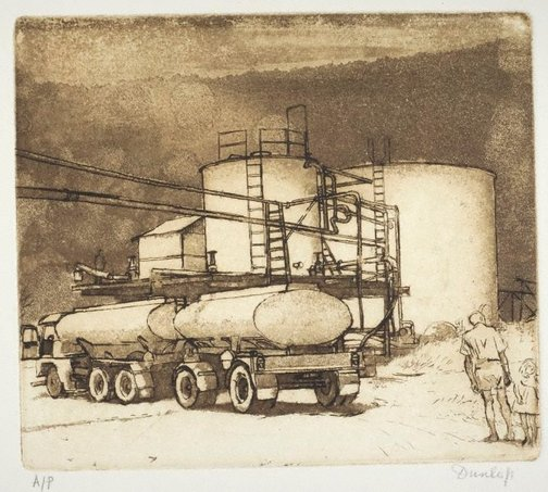 An image of Sugar refinery by Brian Dunlop