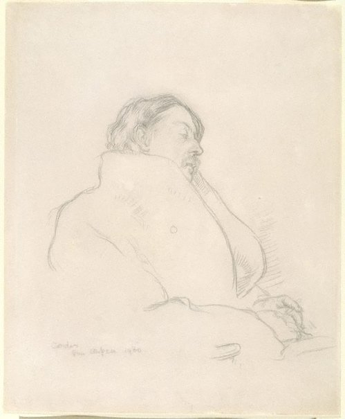 An image of Charles Conder by Sir William Orpen
