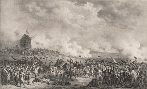 An image of Battle of Valmy by Hippolyte Bellangé