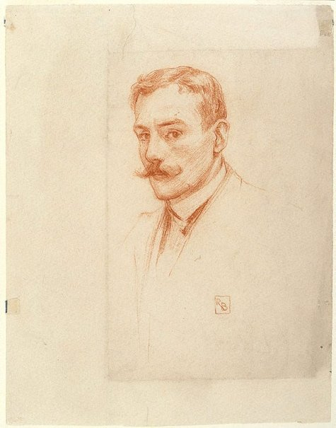 An image of Self portrait by Rupert Bunny