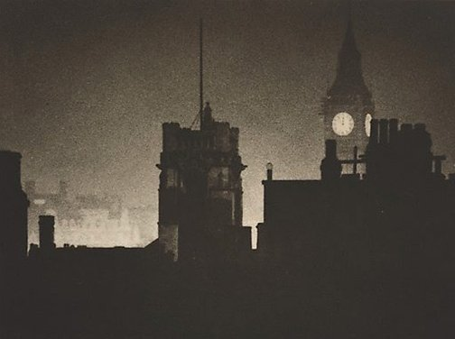 An image of Untitled (Night scene) by attrib. John Lathom