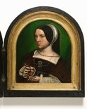 Alternate image of Portraits of Cornelius Duplicius de Scheppere and his wife Elizabeth Donche by Ambrosius Benson