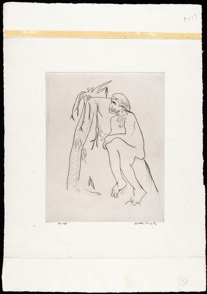 An image of (Illustration for 'Jonah' p.113) by Arthur Boyd