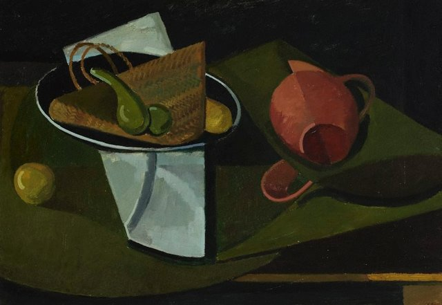 An image of Still life with gourd