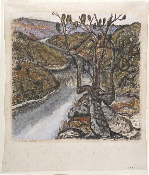 An image of Cowan Creek (1) by Margaret Preston