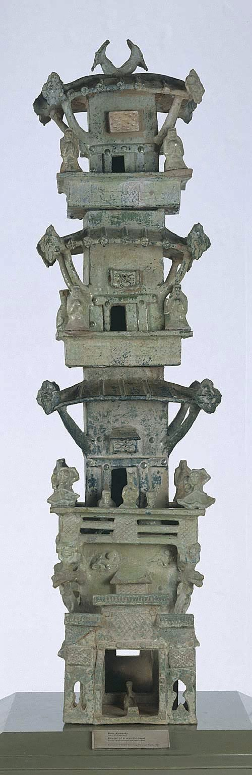 An image of Architectural tower: tomb model