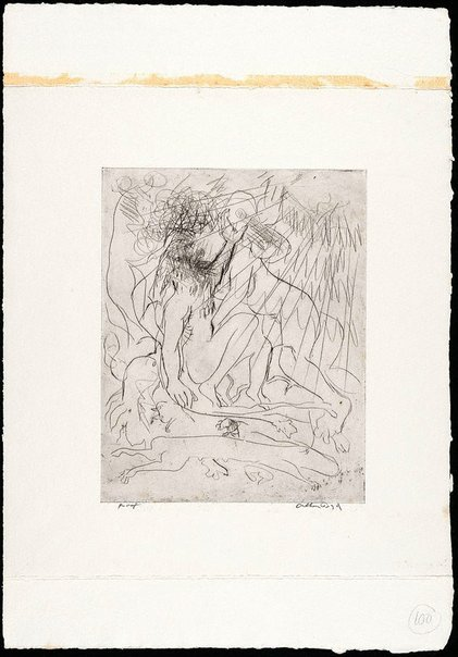 An image of (Illustration for 'Jonah' p.125) by Arthur Boyd