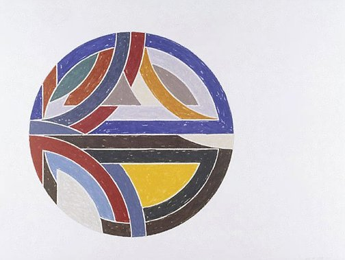 An image of Sinjerli variation III by Frank Stella