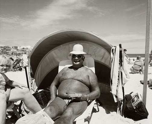 An image of Retired beach inspector by Jon Lewis