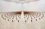 Alternate image of Field for the Art Gallery of New South Wales by Antony Gormley