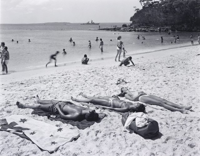 An image of View north-east from Green Patch Beach, Jervis Bay
