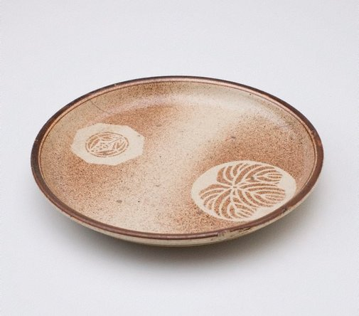 An image of Seto ware oil plate by Seto ware