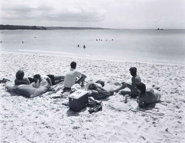 An image of View north-west from Green Patch Beach, Jervis Bay